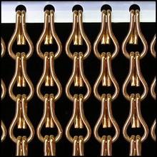 Kettinggordijn Liso ® AANBIEDING Kettinggordijn Brons - 100 x 260