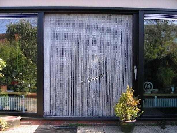 vliegengordijn Aluminium kettinggordijn Liso®