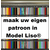 Liso ® Eigen patroon model Liso DHZ PAKKET - Prijs per / m²