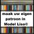 Liso ® Eigen patroon model Liso DHZ PAKKET