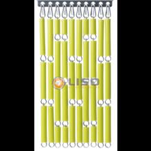 Liso ® Vliegengordijn Appeltjesgroen - Doe-het-zelf pakket / m2