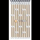 Liso ® Vliegengordijn Zand  Pale Taupe - Doe-het-zelf pakket / m2