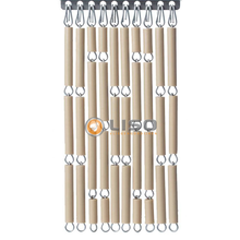 Liso ® Fliegenvorhang Sand | Pale Taupe - Do-it-yourself-Paket / m2