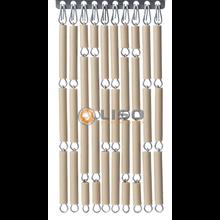Liso ® Vliegengordijn Zand |Pale Taupe - Doe-het-zelf pakket / m2