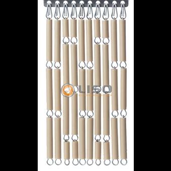 Liso ® Fliegenvorhang DIY Paket Liso® Sand Farbe | Blasses Taupe