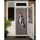 Liso ® 018 Fliegenvorhang mit Pinguin - fertig 92 x 209