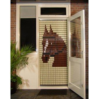 Liso ® 019 Fliegender Vorhang mit Pferd - fertig 92 x 209 cm
