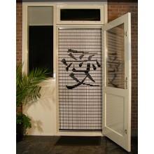 Liso ® 041 Fliegenvorhang mit chinesischem Schild: Liebe fertig 92 x 209