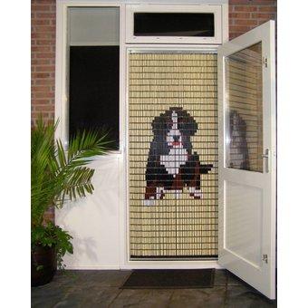 Liso ® 076 Vliegengordijn met Berner Sennen klein - kant en klaar 92 x 209 cm