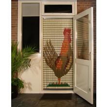 Liso ® 090 Fliegenvorhang mit Hühnchen - fertig 92 x 209