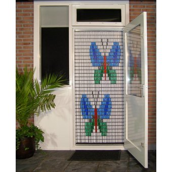 Liso ® 003 Fliegenvorhang mit Schmetterlingen - Do-it-yourself-Paket. Preis pro m²