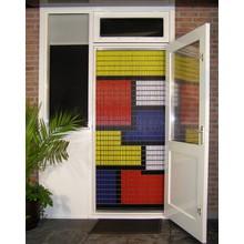 Liso ® Vliegengordijn met Gekleurde vlakken - Doe-het-zelf pakket | Prijs / m²