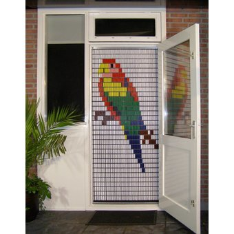 Liso ® Fliegenvorhang DIY-Paket Liso® Parakeet - Do-it-yourself-Paket. Preis pro m²