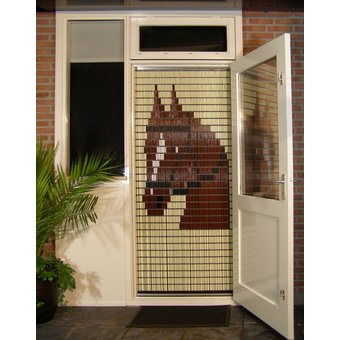 Liso ® Fliegenvorhang DHZ-Paket Liso® Horse - Do-it-yourself-Paket. Preis pro m²