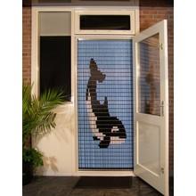 Liso ® Vliegengordijn met Orka - Doe-het-zelf pakket | Prijs / m²
