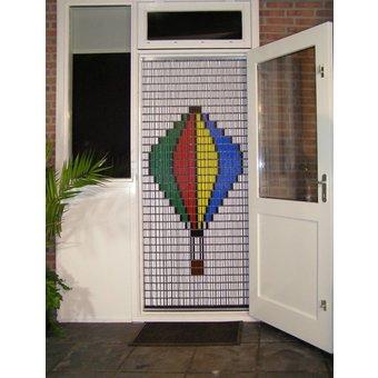 Liso ® Vliegengordijn DHZ-Pakket Liso® Luchtballon - Doe-het-zelf pakket. Prijs per / m²