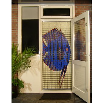 Liso ® Fliegenvorhang DIY-Paket Liso® Mondfisch - Do-it-yourself-Paket. Preis pro m²