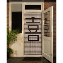 Liso ® Vliegengordijn met Chinees teken: Blijdschap - Doe-het-zelf pakket | Prijs / m²