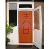 Liso ® Vliegengordijn met Chinees teken: Nieuw begin - Doe-het-zelf pakket | Prijs / m²
