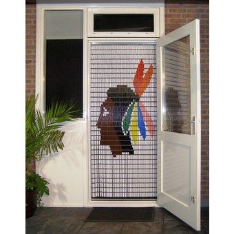 Liso ® Fliegenvorhang DIY-Paket Liso® Indianer - Do-it-yourself-Paket. Preis pro m²