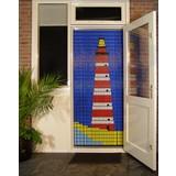 Liso ® 051 Vliegengordijn met Vuurtoren - Doe-het-zelf pakket | Prijs / m²