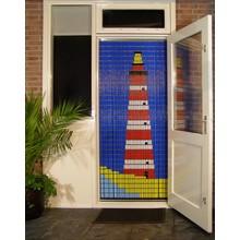 Liso ® Vliegengordijn met Vuurtoren - Doe-het-zelf pakket | Prijs / m²