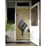 Liso ® 054 Fliegenvorhang mit Taube - Do-it-yourself-Paket Preis / m²