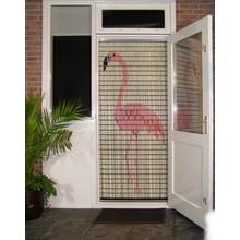 Liso ® Vliegengordijn met Flamingo - Doe-het-zelf pakket | Prijs / m²