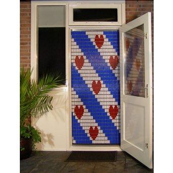 Liso ® Vliegengordijn DHZ-Pakket Liso® Friesche Vlag - Doe-het-zelf pakket. Prijs per / m²