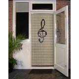 Liso ® Fliegenvorhang mit Violinschlüssel - Do It Yourself-Paket | Preis / m²