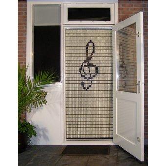Liso ® Fliegenvorhang DIY-Paket Liso® Violinschlüssel - Do-it-yourself-Paket. Preis pro / m²