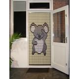 Liso ® 066 Vliegengordijn met Koalabeertje - Doe-het-zelf pakket | Prijs / m²
