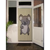 Liso ® Fliegenvorhang mit Koalabär - Do-it-yourself-Paket | Preis / m²