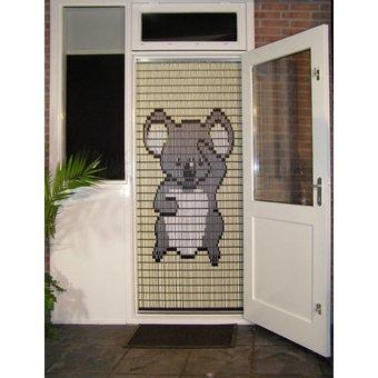 Liso ® DIY-Paket mit Fliegenvorhängen Liso® Koalabär - Paket zum Selbermachen. Preis pro / m²