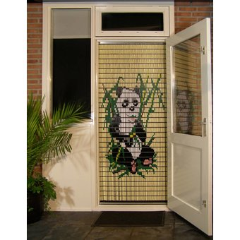 Liso ® Vliegengordijn DHZ-Pakket Liso® Panda - Doe-het-zelf pakket. Prijs per / m²