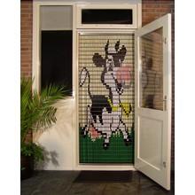 Liso ® 068 Vliegengordijn met Koetje - Doe-het-zelf pakket   Prijs / m²