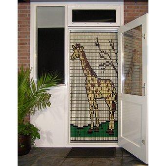 Liso ® Vliegengordijn DHZ-Pakket Liso® Giraffe - Doe-het-zelf pakket. Prijs per / m²