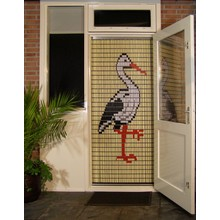 Liso ® 071 Fliegenvorhang mit Storch - Do-it-yourself-Paket | Preis / m²