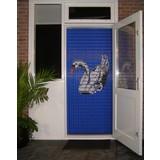 Liso ® 073 Vliegengordijn met Zwaan - Doe-het-zelf pakket | Prijs / m²
