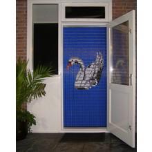 Liso ® 073 Vliegengordijn met Zwaan - Doe-het-zelf pakket   Prijs / m²
