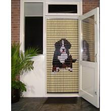 Liso ® Vliegengordijn met hond Berner Sennen klein - Doe-het-zelf pakket | Prijs / m²