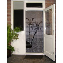 Liso ® 081 Fliegenvorhang mit Palm Beach - Do-it-yourself-Paket | Preis / m²