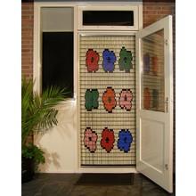 Liso ® 085 Fliegenvorhang mit 9 Blumen - Do-it-yourself-Paket | Preis / m²