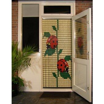 Liso ® Fliegenvorhang DIY-Paket Liso® Ladybugs - Do-it-yourself-Paket. Preis pro / m²