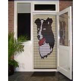 Liso ® 097 Vliegengordijn met hond Collie - Doe-het-zelf pakket | Prijs / m²