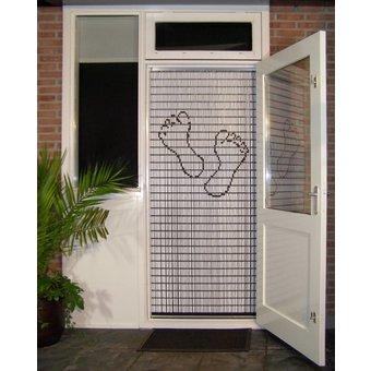 Liso ® Fliegenvorhang DIY-Paket Liso® Feet (Pediküre) - Do-it-yourself-Paket. Preis pro / m²