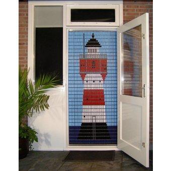 Liso ® Vliegengordijn DHZ-Pakket Liso® Duitse vuurtoren - Doe-het-zelf pakket. Prijs per / m²