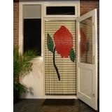 Liso ® 102 Vliegengordijn met Roos - Doe-het-zelf pakket | Prijs / m²