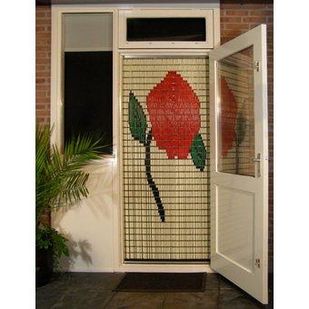 Liso ® Vliegengordijn DHZ-Pakket Liso® Roos - Doe-het-zelf pakket. Prijs per / m²