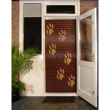 Liso ® 104 Vliegengordijn met Hondenpootjes - Doe-het-zelf pakket | Prijs / m²